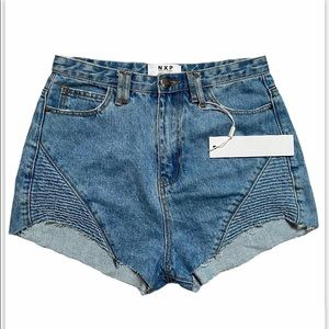 NWT NXP High Rise Destroyer Shorts